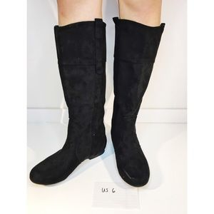 Black Knee-High Boots size 6